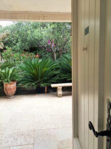 Innergården sett från vårt rum.